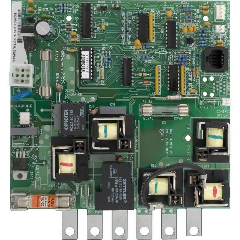 great lakes gpm spa circuit board 50957