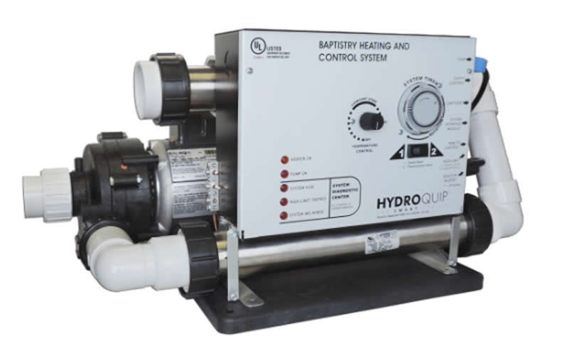Hydro Quip 11 Kw Baptistery Equipment Pack With Timer