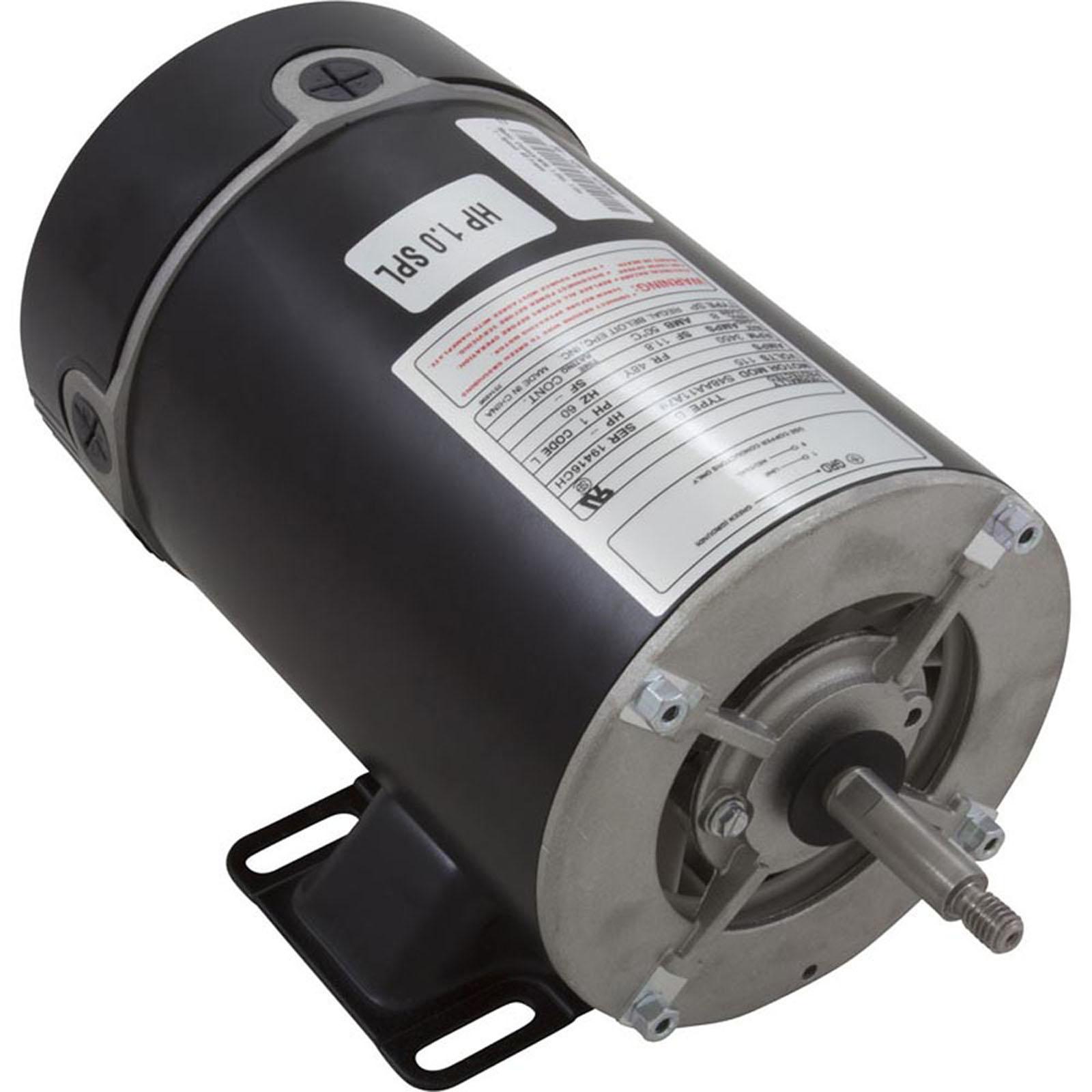 Bn25 motor 48 frame thru bolt 1 0 hp 115 volts 1 speed for Ao smith motor catalog