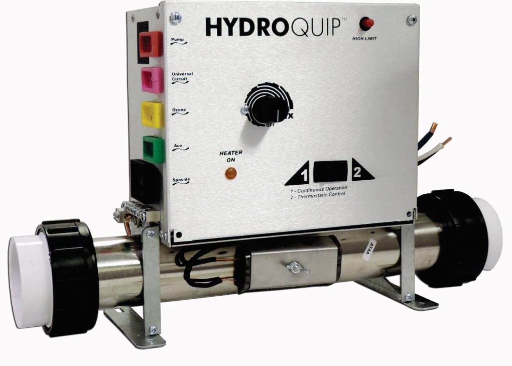 Hydro Quip CS7000-U Pneumatic Control Box With Heater   Hydro Quip Heater Wiring Schematics      Spa Care Center