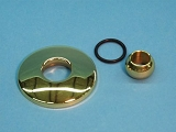 Balboa Water Group  Micro Jet Polished Brass Escutcheon Kit