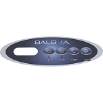 Balboa Water Group 4 Button VL200 Two Jet Overlay Only 11127