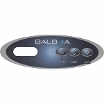 Balboa Water Group 3 Button VL200 Mini Oval Overlay Only 11219