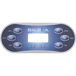Balboa Water Group 6-Button VL600S Overlay Only 11774
