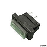 Rocker Switch With Dust Cover SPST 2 Terminals 12-1026