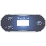 Balboa Water Group 3-Button VL406T Overlay Only 12438