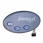 2600-324 Jacuzzi® J-300 Remote Topside Control