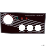 Tecmark Command Center 3 Button Overlay