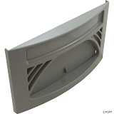 Waterway Front Access Oval Front Plate 100 Sq. Ft Assembly (Gray)