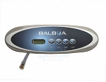 Balboa Water Group 4 Button VL260 LCD Mini Oval Clear Bezel 55050