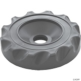Waterway Diverter Scalloped Valve Cover (Gray)