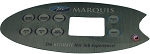 Marquis Topside Control MQ554 Overlay Only 650-0683