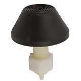 Tecmark Raised Cone Air Button Brown