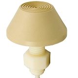 Tecmark Raised Cone Air Button Beige