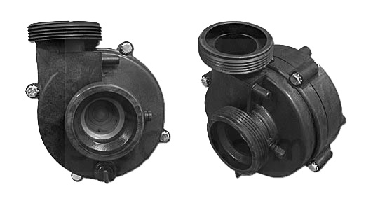 Cal spa balboa water group reverse dually wet end 1215144 for Cal spa dually pump motor