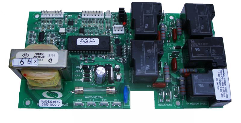 ECO-1 Hydroquip Circuit Board 33-0014A-R8 | Hydro Quip Wiring Diagram |  | Spa Care Center