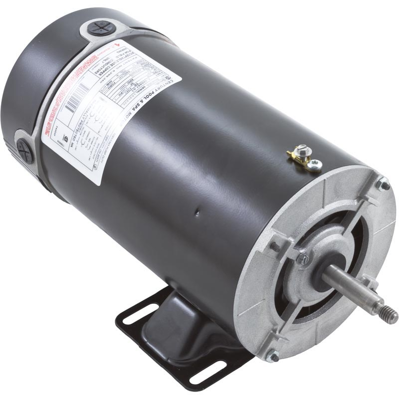 Waterway motor 48 frame thru bolt 1 0 hp 115 volts 2 speed for Ao smith motor catalog