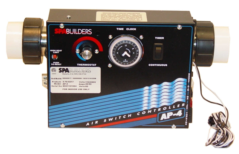 Spa builders ap 4 control system 3 70 0469 for Spa builders