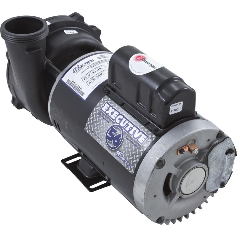 executive waterway frame pump hp volts speed x  executive waterway 56 frame pump 5 0 hp 230 volts 2 speed 2 x 2 3722021 1d