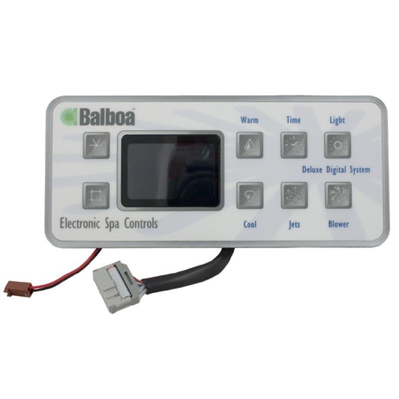 Digital Control Panel : Balboa water group deluxe digital w ribbon style