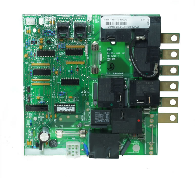 Master Spa Circuit Board 52562: Balboa Circuit Board 54372. VS510SZ on
