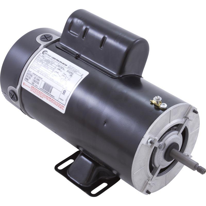 Bn34 motor 48 frame thru bolt 1 5 hp 230 volts 2 speed for Ao smith spa pump motors