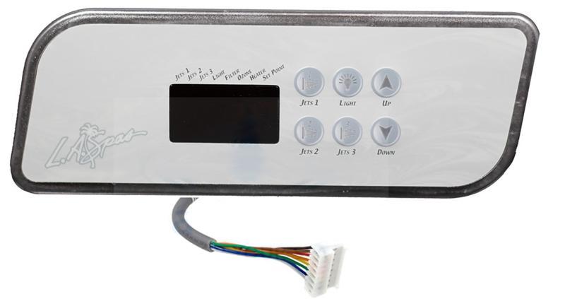 la spa gecko topside control panel k 44 pl49530_pl49540 Hot Tub Hook Up Diagram