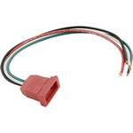 J&J Mini Pump1 (2 Speed) Pump Receptacle Red 09-0022C