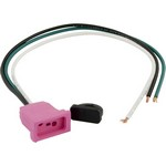 J&J Mini (1 Speed) Pump Receptacle Pink 09-0024C