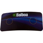 Balboa Water Group 2-Button Auxiliary Topside Overlay 10318