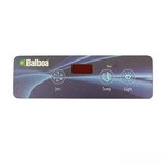 Balboa Topside Control Overlay (LED) Only 10753BAL
