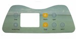 Artesian Spa Topside Control Overlay Only 11-0035-77