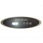 Balboa Water Group 3 Button VL260 LCD Mini Oval Overlay Only 11724