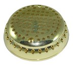 Hydrabaths Suction Cover (Short Mounting Legs) (Polish Brass) 203615