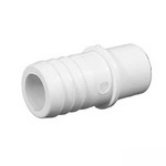 425-1000 Waterway PVC Barbed Adapter 1/2