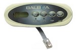 Balboa Water Group 4 Button VL200 LCD Mini Oval 52144