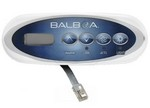 Balboa Water Group 4 Button VL200 LCD Mini Oval 53238