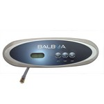 Balboa Water Group 3 Button VL260 LCD Mini Oval Gray Bezel 54685