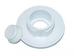 Hydrabaths Air Button White Trim Piece 700112-01