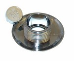Hydrabaths Air Button Chrome Trim Piece 700113-07