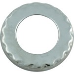 Poly Jet Escutcheon Stainless 916-6000