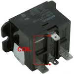 Omron Relay SPST 120 Volt Coil G4B-112T1-US