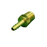 Brass Barbed Adapter 1/8
