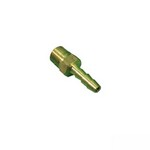 Brass Barbed Adapter 1/4