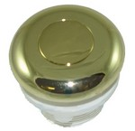 Hydrabaths Air Button Polish Brass HSA-115