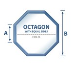 Octagon w/Equal Sides Spa Cover