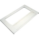 Waterway Front Access Front Plate 100 Sq. Ft (White)