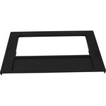 Waterway Front Access Front Plate 100 Sq. Ft (Black)