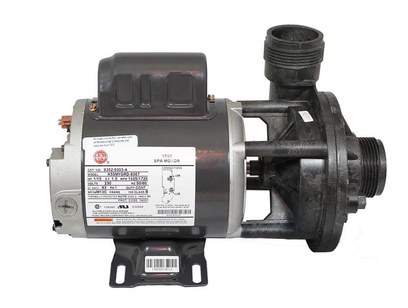 Aqua Flo Circ Master 1/15 HP 230 Volt Pump 02093001-2010 Baja Spa Wiring Diagram on