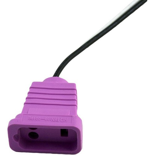 J&J Mini Switched Accessory Receptacle Violet 09-0019C